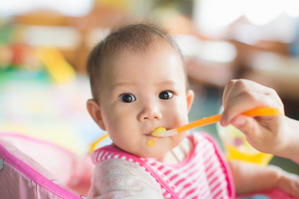Gagging vs Choking: The differences you need to know when weaning your baby by Annabel Karmel