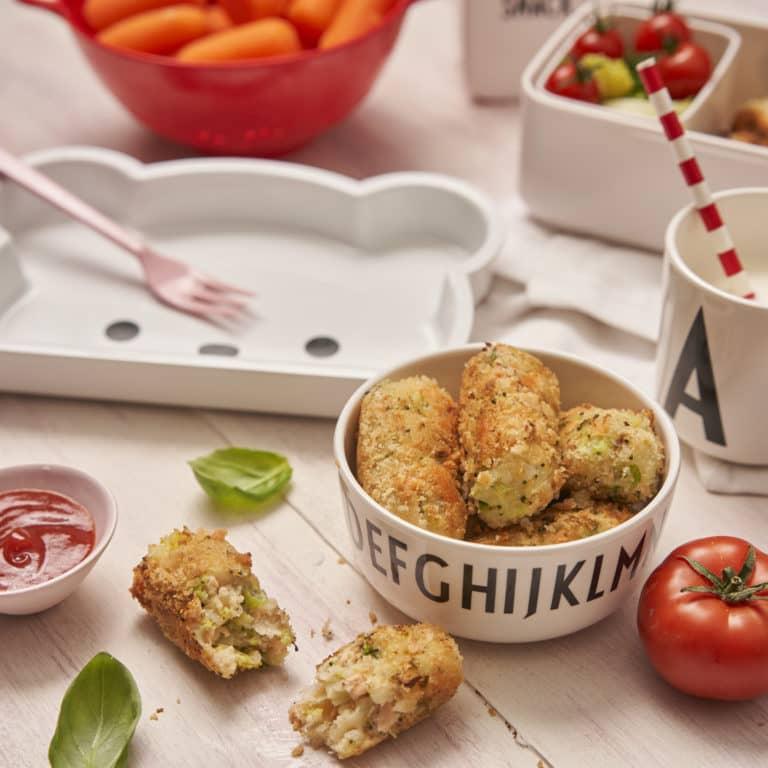 Salmon & Broccoli Croquettes Recipe by Annabel Karmel
