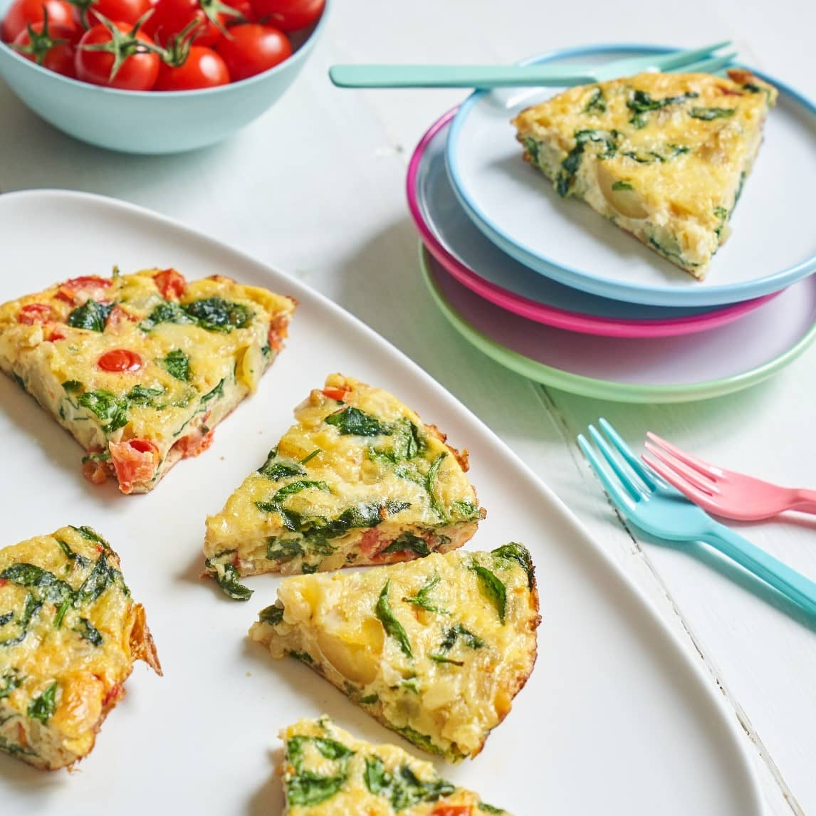 Spinach Frittata recipe by Annabel Karmel