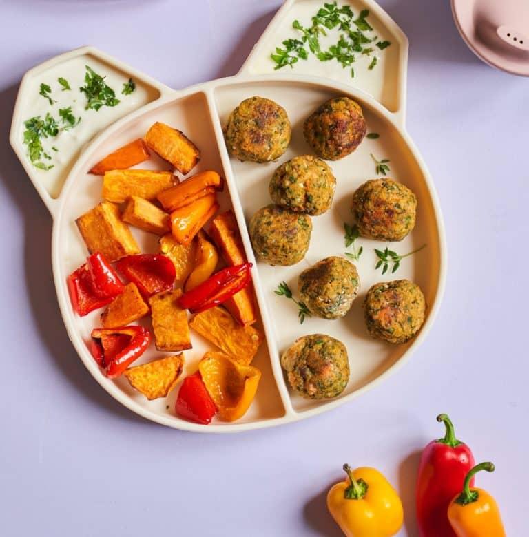 lentil & veggie balls recipe by Annabel Karmel