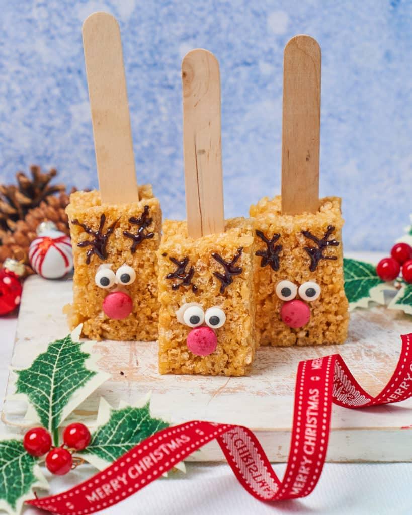 Rice Krispie Reindeers Recipe by Annabel Karmel