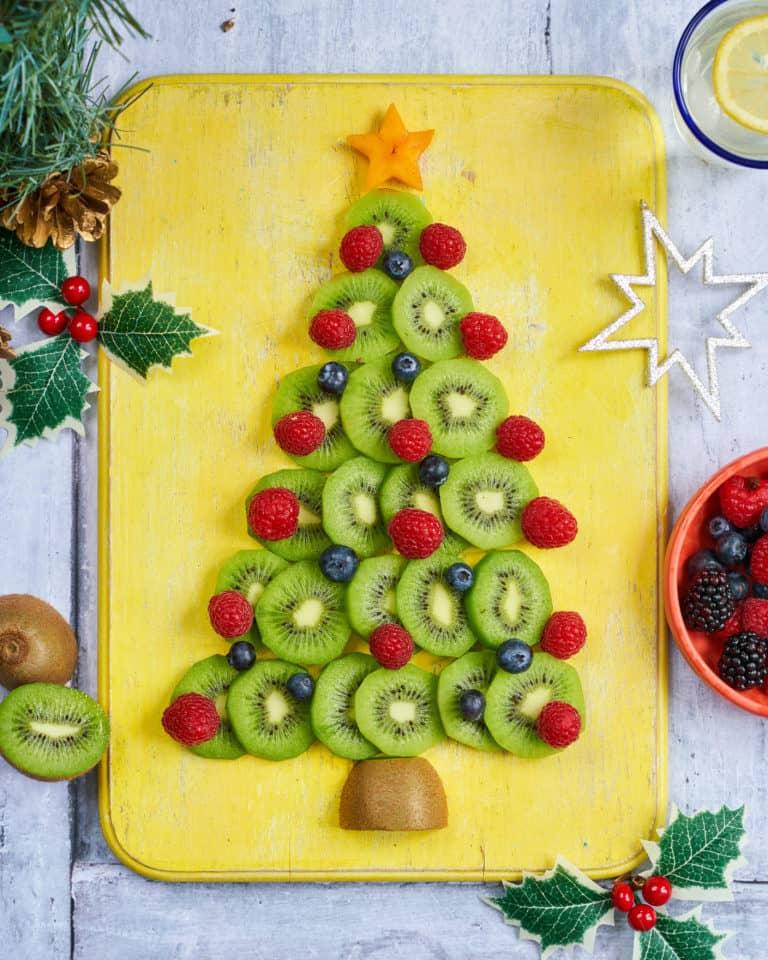 Kiwi Christmas Tree Recipe by Annabel Karmel