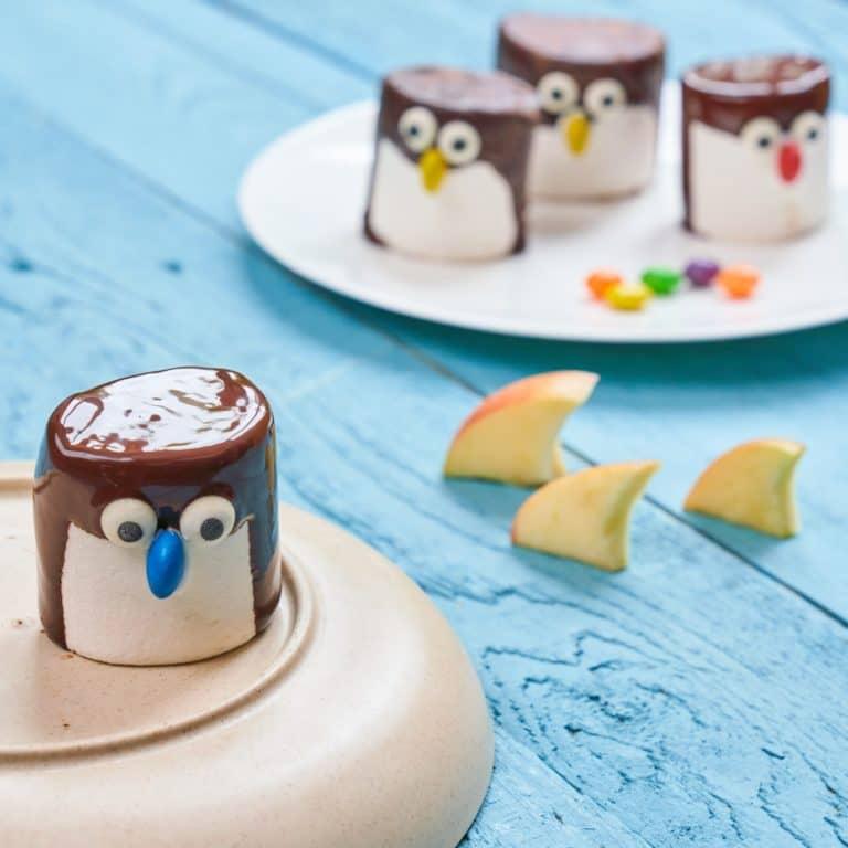 Marshmallow Penguins recipe by Annabel Karmel