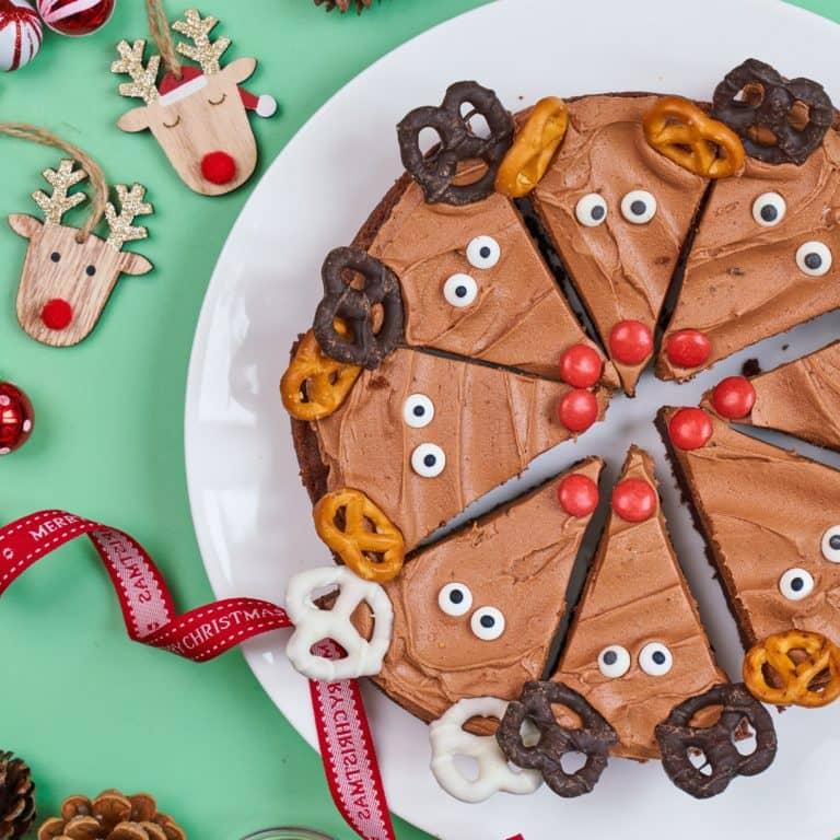 Reindeer Brownies recipe by Annabel Karmel