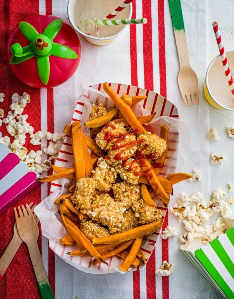 Healthy 'fast' food swaps for less 'naughty' and more nutritious mealtimes by Annabel Karmel