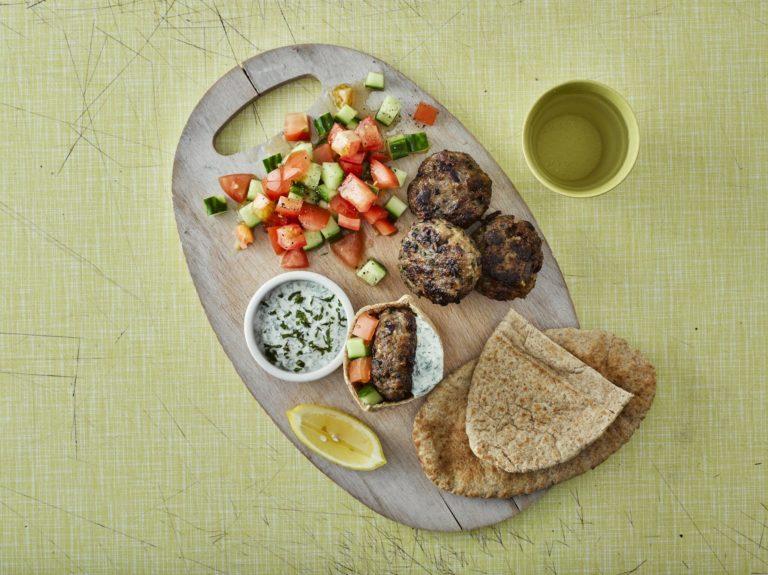 Annabel's Minty Lamb Koftas recipe by Annabel Karmel