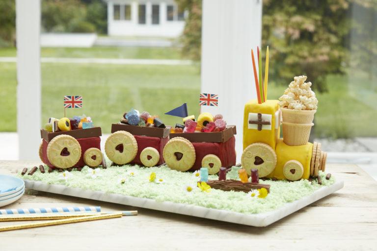Birthday Train Cake recipe by Annabel Karmel