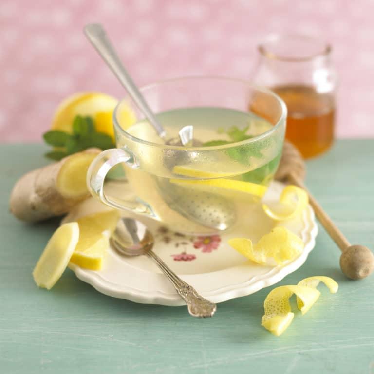 Infused Ginger & Lemon Cuppa recipe by Annabel Karmel
