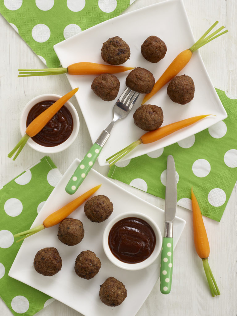 Meatballs with BBQ Sauce recipe by Annabel Karmel