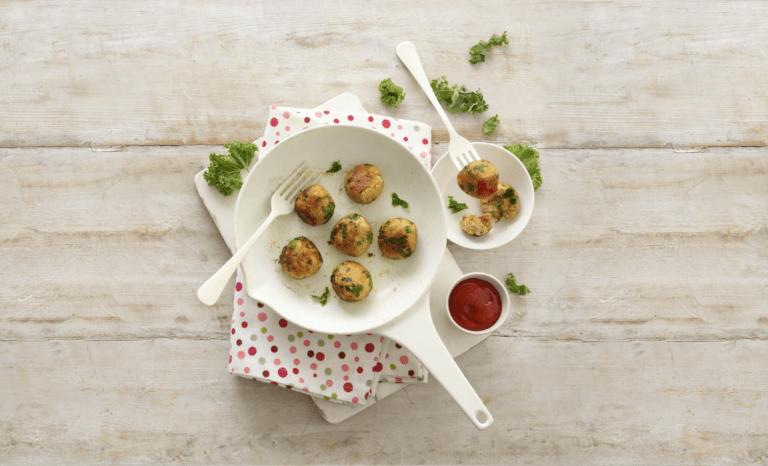 Chicken and Kale Balls Recipe by Annabel Karmel
