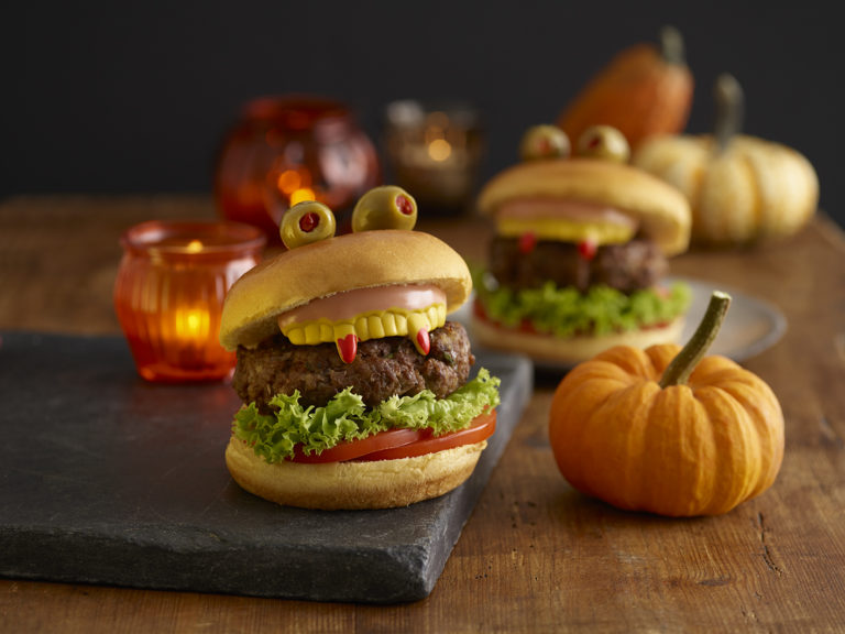 Monster Burgers recipe by Annabel Karmel