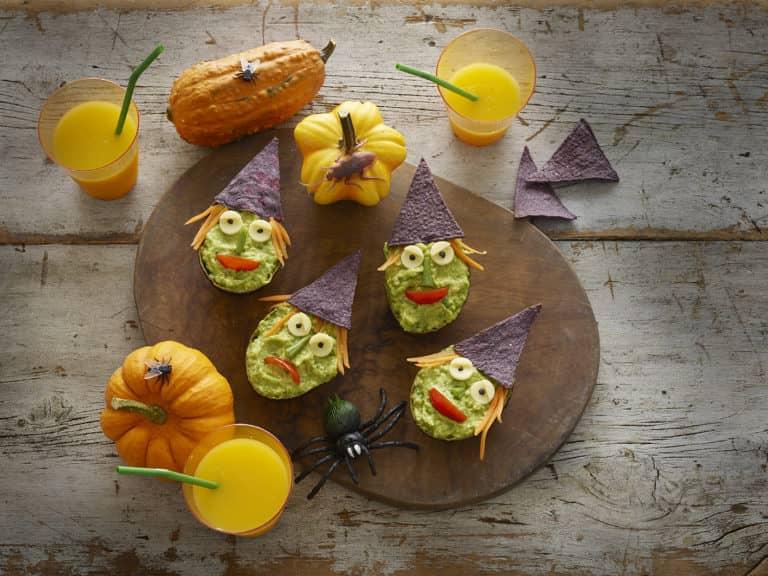 Ghoulish Guacamole Recipe by Annabel Karmel