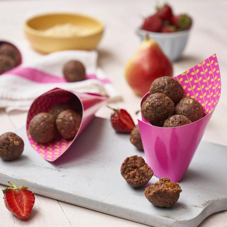 Raw Cacao Energy Balls recipe by Annabel Karmel