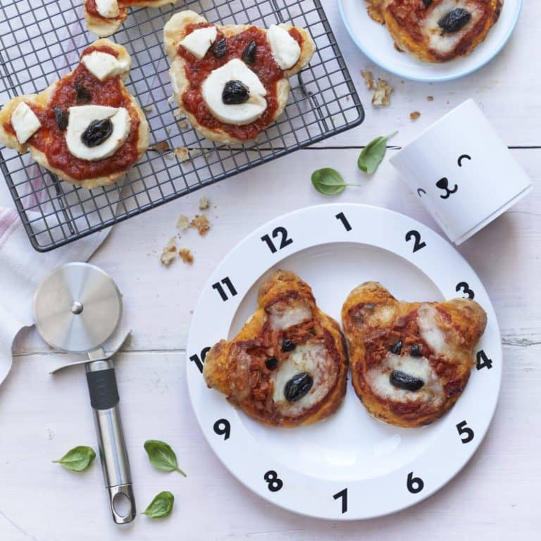 Teddy Bear Pizza Recipe by Annabel Karmel