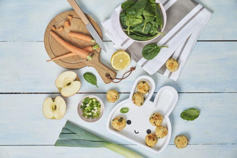 Cod & Couscous Balls recipe by Annabel Karmel
