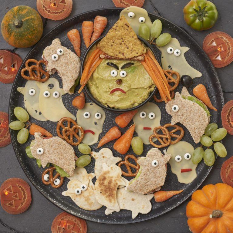Spooky Halloween Platter recipe by Annabel Karmel