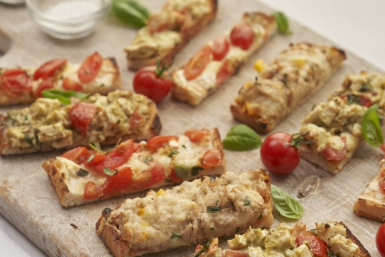 Trio of Toasted Finger Snacks Recipe by Annabel Karmel
