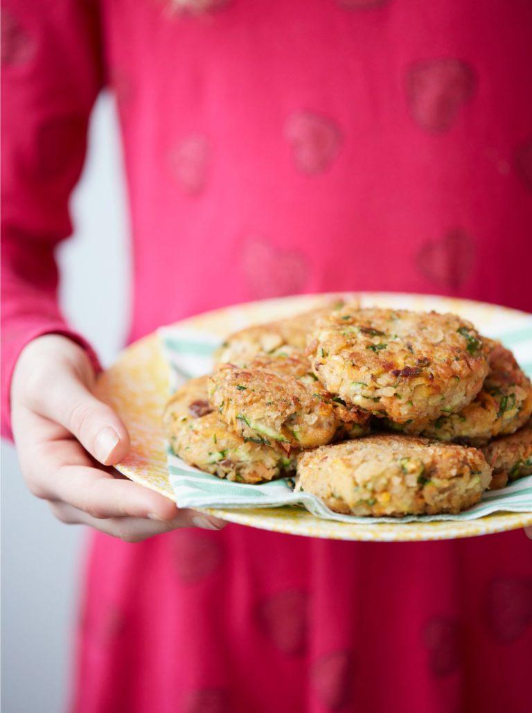 My Favourite Vegan Burger Recipe by Annabel Karmel