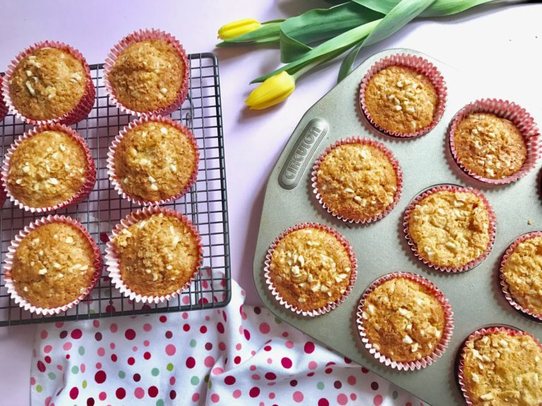 Coconut, Apricot & Carrot Muffins recipe by Annabel Karmel