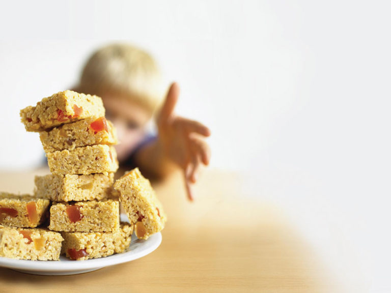 Apricot & White Chocolate Cereal Bars recipe by Annabel Karmel