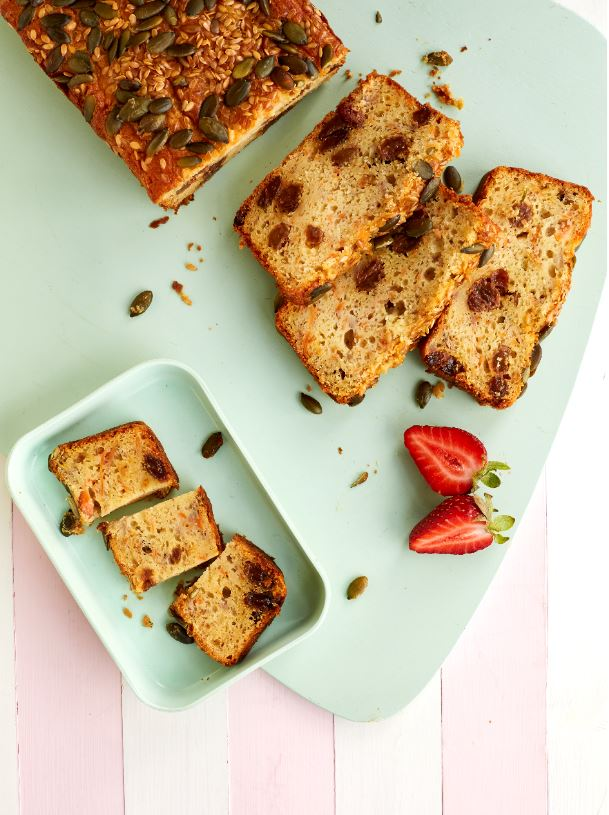 Banana, Carrot and Seed Bread Recipe by Annabel Karmel