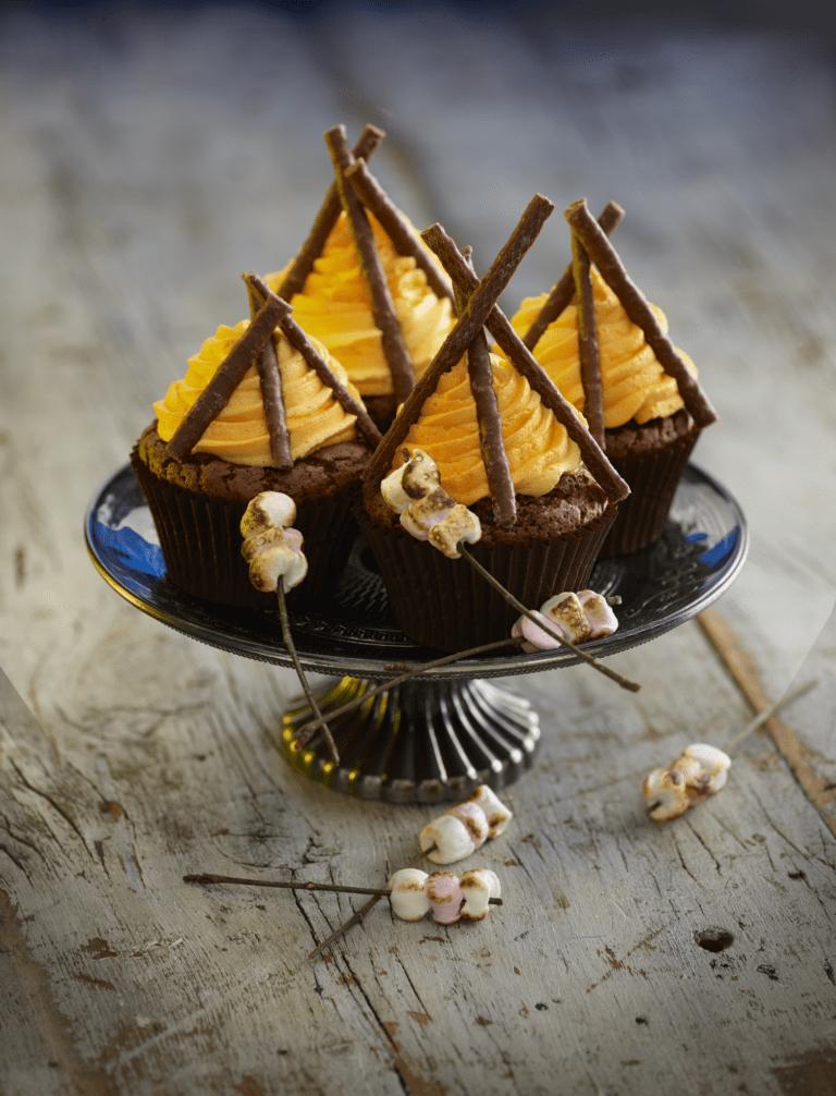 Bonfire Night Cupcakes Recipe by Annabel Karmel