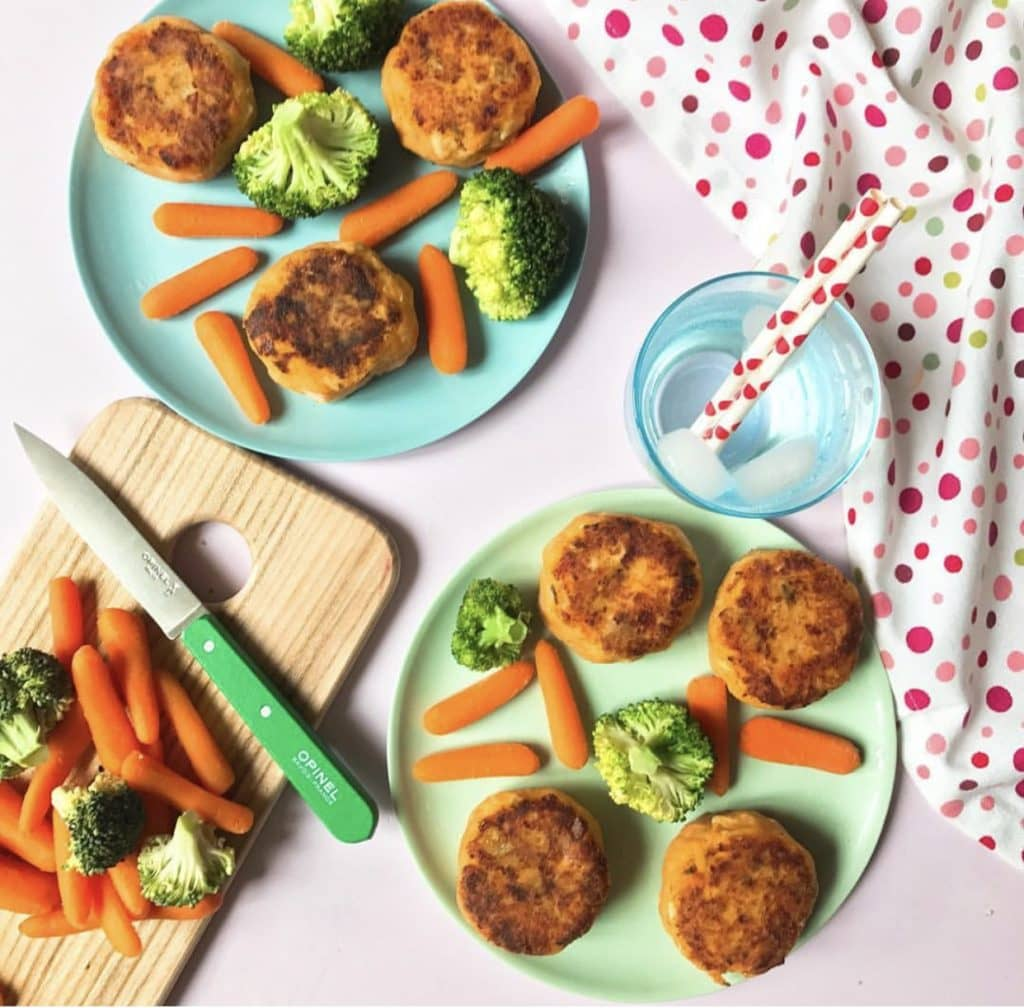 Cherub's Chickpea Patties Recipe by Annabel Karmel