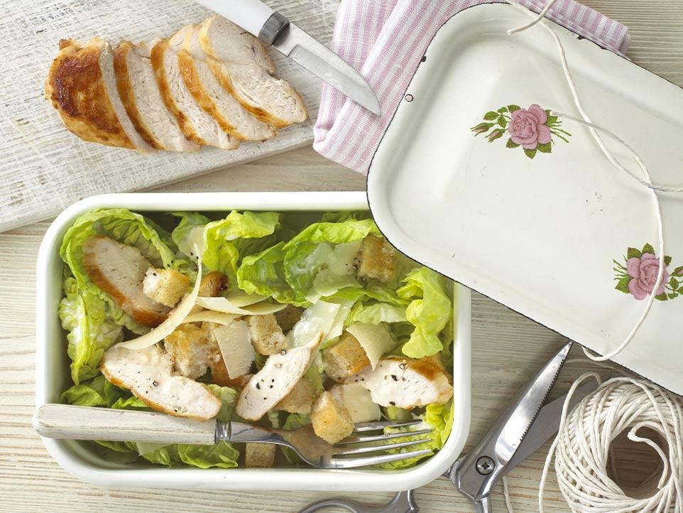 Chicken Caesar Salad recipe by Annabel Karmel