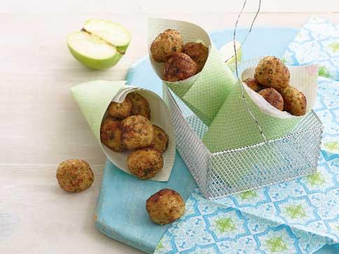 Chicken & Apple Balls recipe by Annabel Karmel