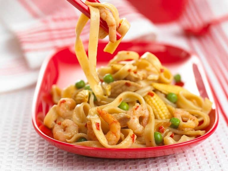 Chinese Chicken Noodles recipe by Annabel Karmel
