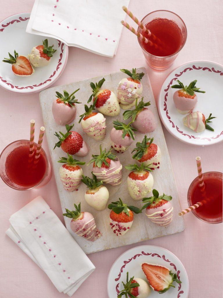 Chocolate Coated Strawberries Recipe by Annabel Karmel