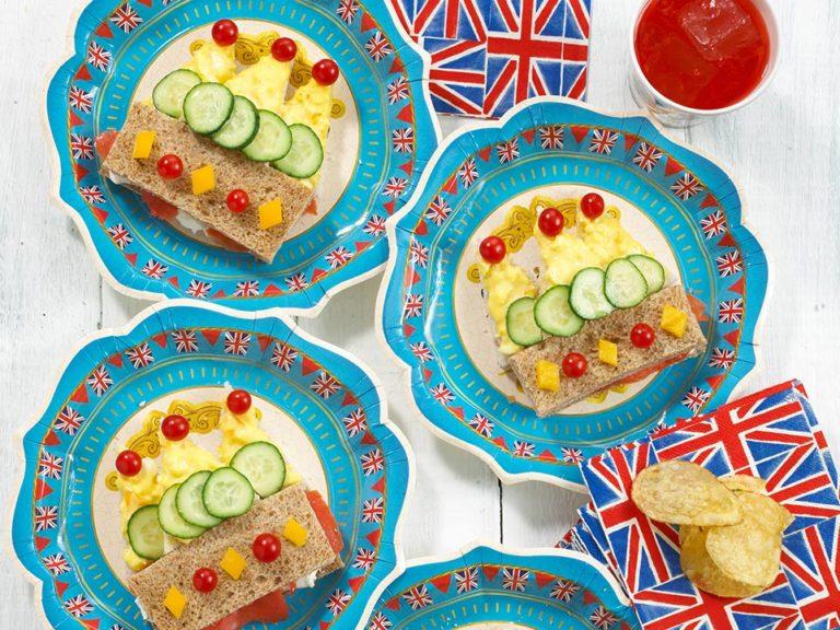Crown Sandwiches recipe by Annabel Karmel