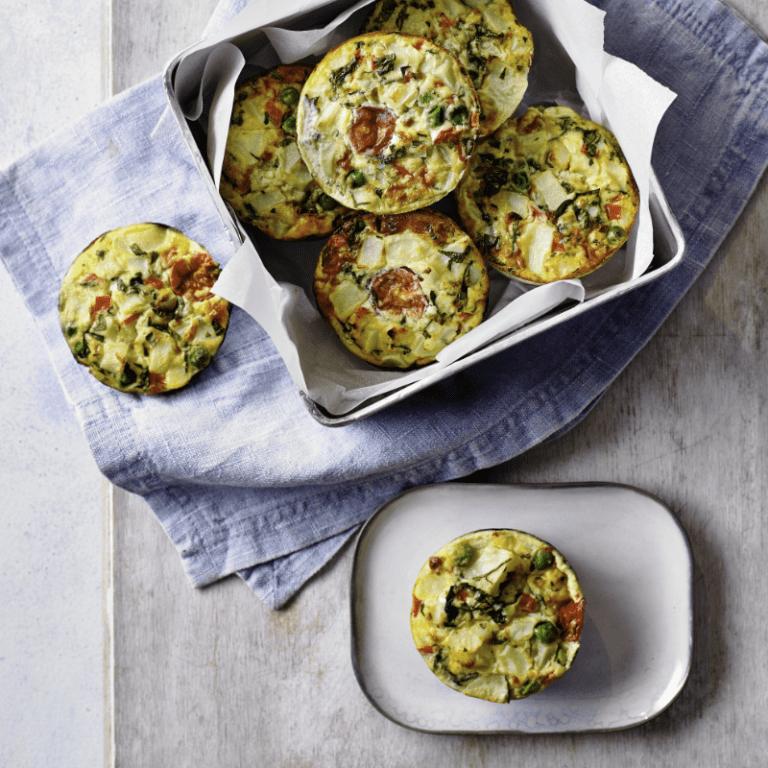 Egg Brunch Muffins Recipe by Annabel Karmel