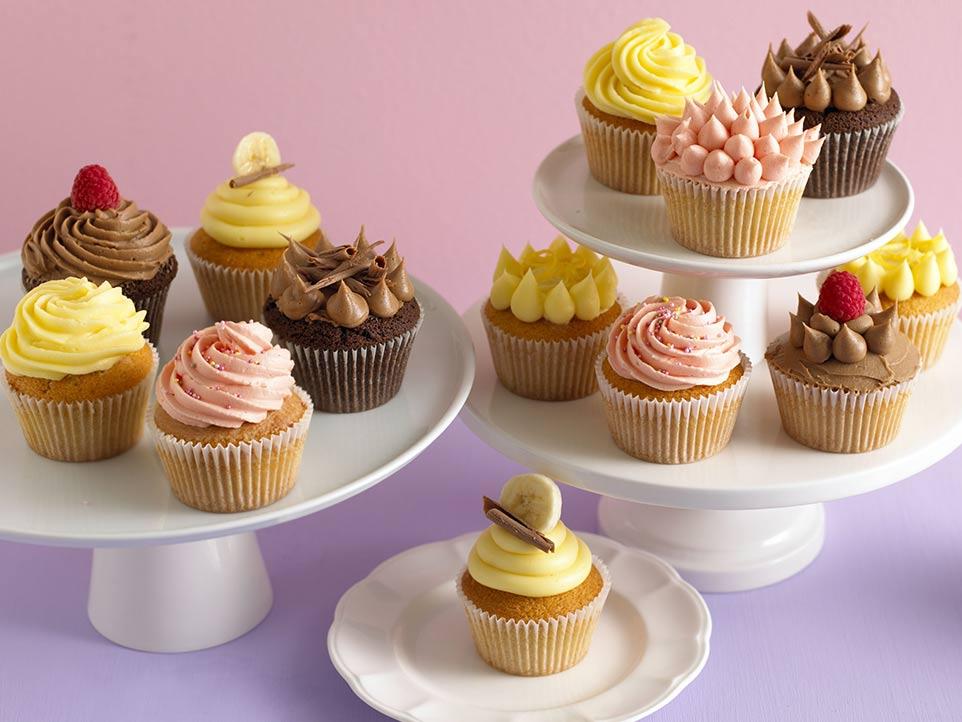 Easy Cupcakes Recipe recipe by Annabel Karmel