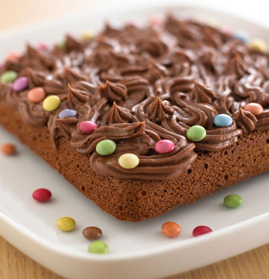 Egg & Dairy Free Chocolate Fudge Cake recipe by Annabel Karmel