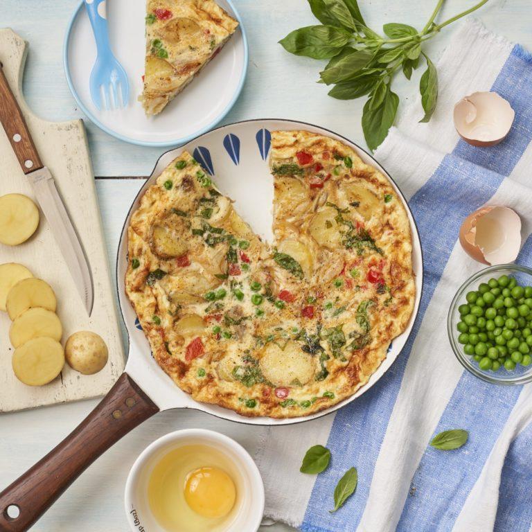 Summer Veggie Frittata recipe by Annabel Karmel