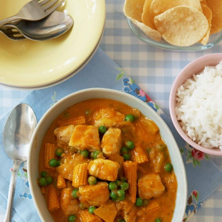 Fruity Chicken Curry recipe by Annabel Karmel