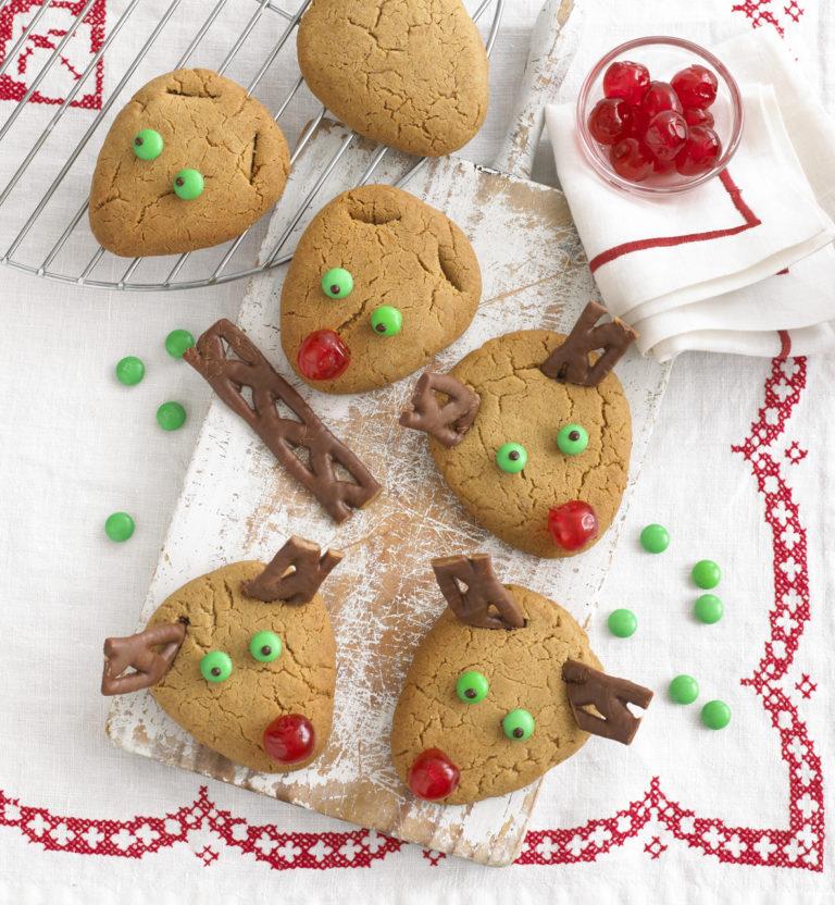 Reindeer Cookies recipe by Annabel Karmel