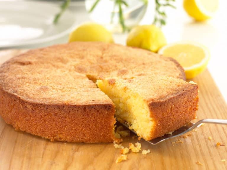Gluten Free Lemon Polenta Cake recipe by Annabel Karmel