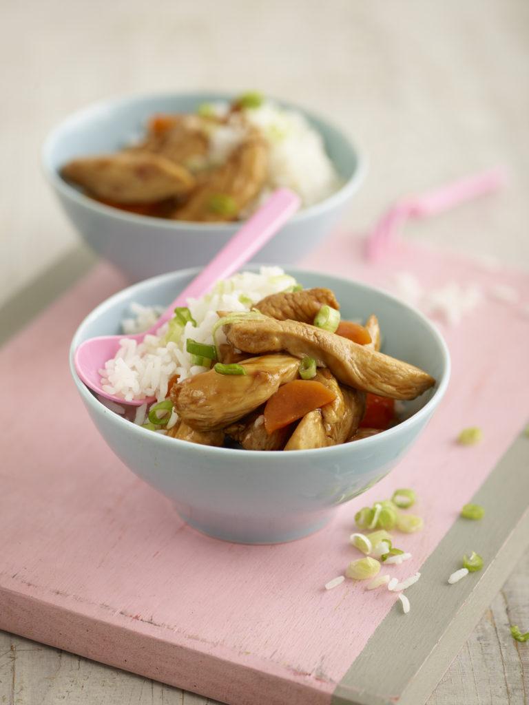 Chicken in a BBQ Sauce recipe by Annabel Karmel