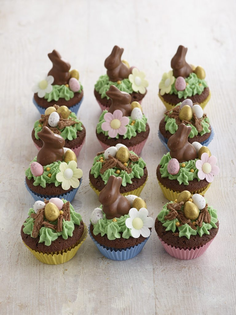 Easter Bunny Cupcakes Recipe by Annabel Karmel