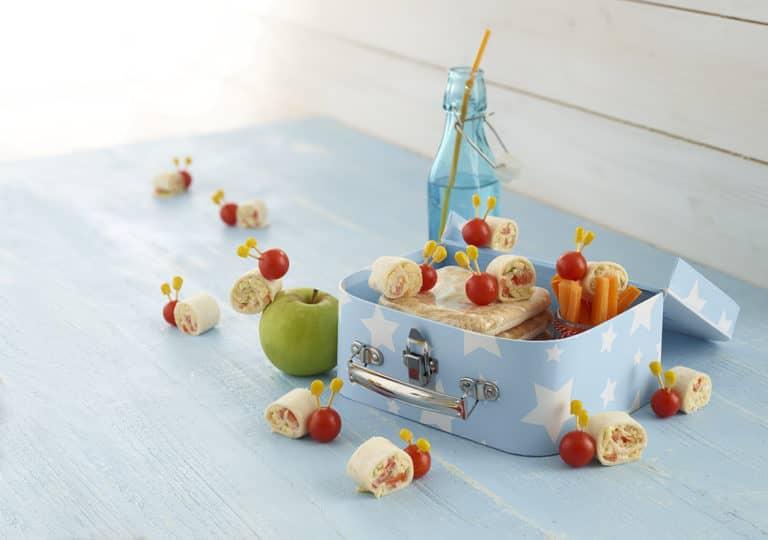 Tomato Snail Wraps Recipe by Annabel Karmel