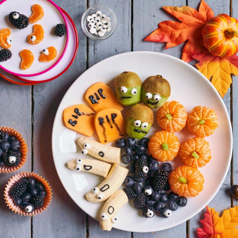 Fiendish Fruit Platter Recipe by Annabel Karmel