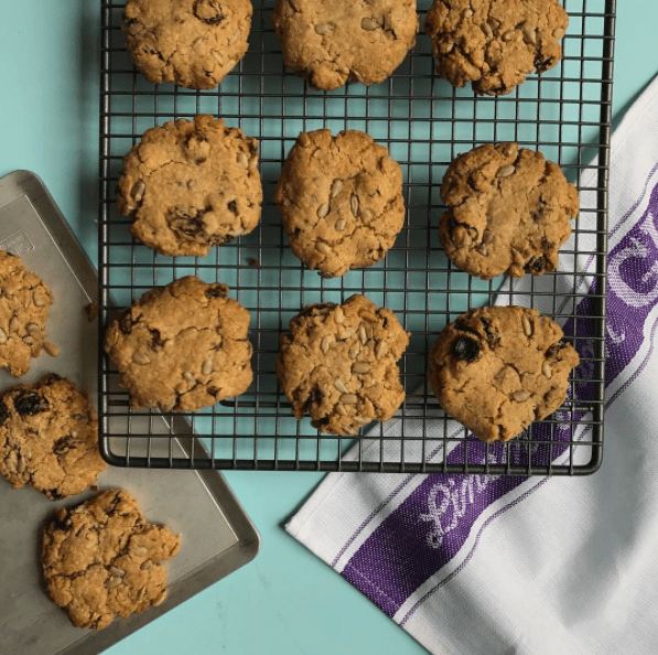 Oat & Raisin Cookies with Sunflower Seeds Recipe by Annabel Karmel