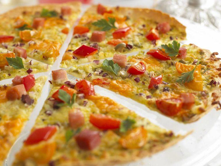 Jewelled Pizzas recipe by Annabel Karmel