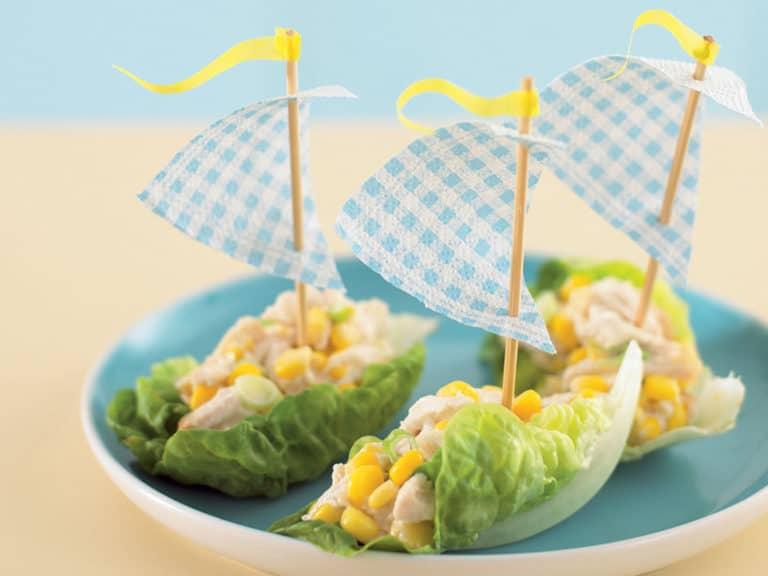Lettuce Boats recipe by Annabel Karmel