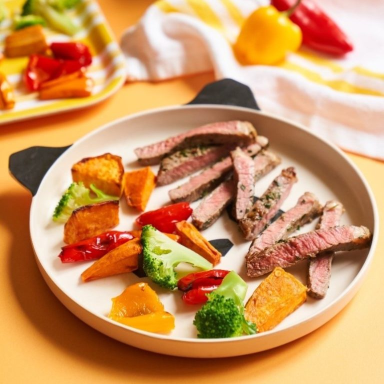 Marinated Sirloin Steak recipe by Annabel Karmel