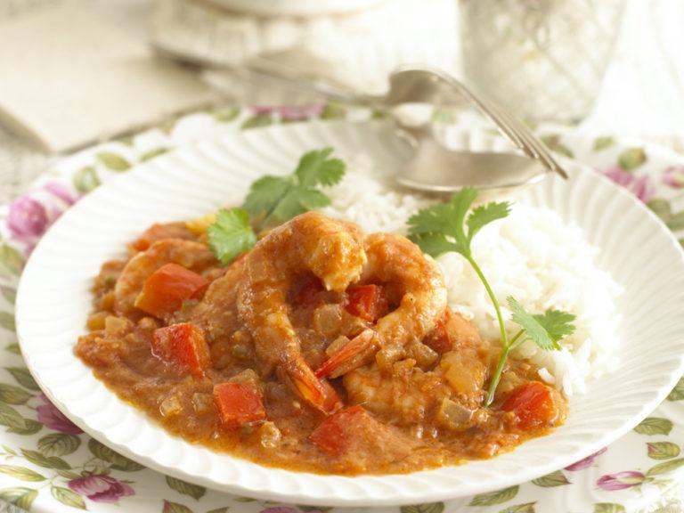 Mild Prawn Curry recipe by Annabel Karmel
