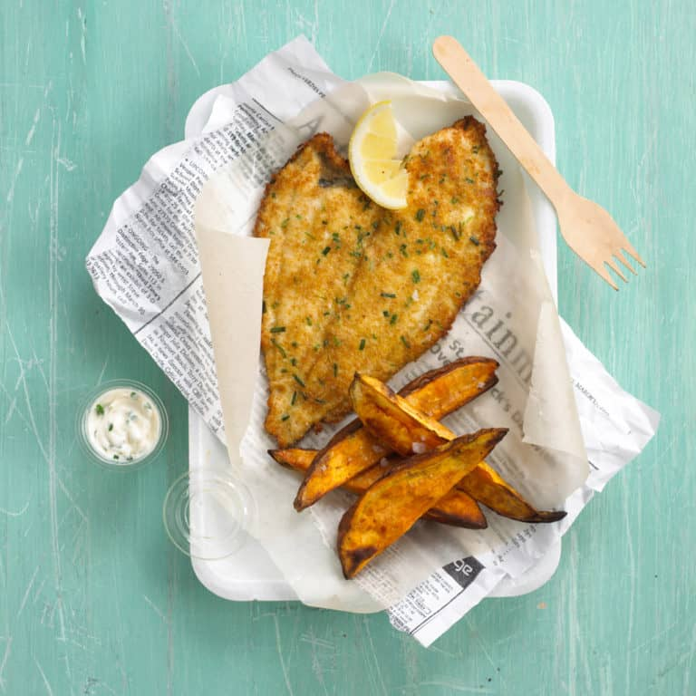 New Style Fish & Chips recipe by Annabel Karmel