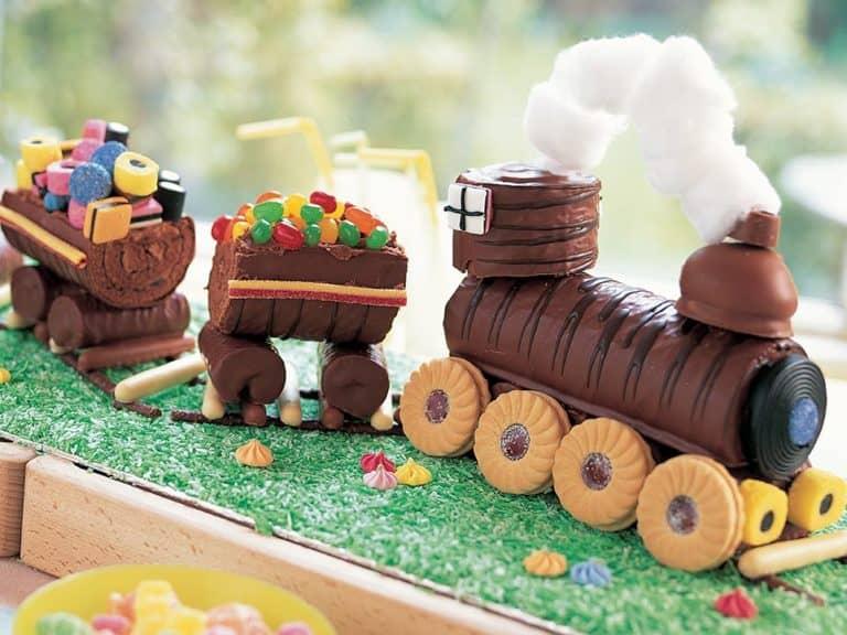No Bake Train Cake recipe by Annabel Karmel